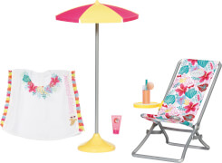 Zapf BABY born Holiday Deluxe Relax Set 43 cm