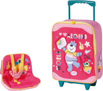 Zapf BABY born Holiday Trolley mit Puppensitz